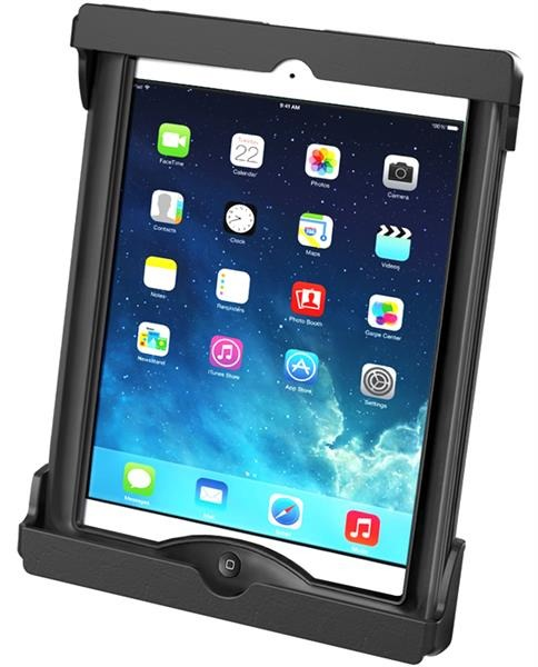 RAM Tab-Tite Cradle for the Apple iPad Air 1-2 and Samsung Galaxy Tab A 9.7 WITH CASE SKIN OR SLEEVE